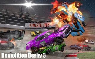 Demolition Derby 3 Apk Mod Dinheiro Infinito