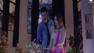 Rajniesh Duggall Celebrate With Sunny Leone In Beiimaan Love Hindi Picture