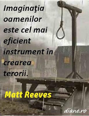 Imaginaţia oamenilor este cel mai eficient instrument în crearea terorii. Matt Reeves