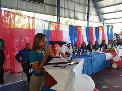 Distrito 0104 y centros educativos conmemoran el 176 aniversario de la Independencia Nacional