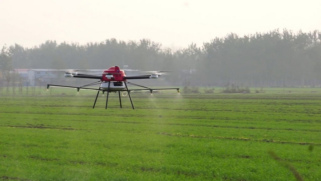 Crop-Spraying Drone Options for Agriculture Development