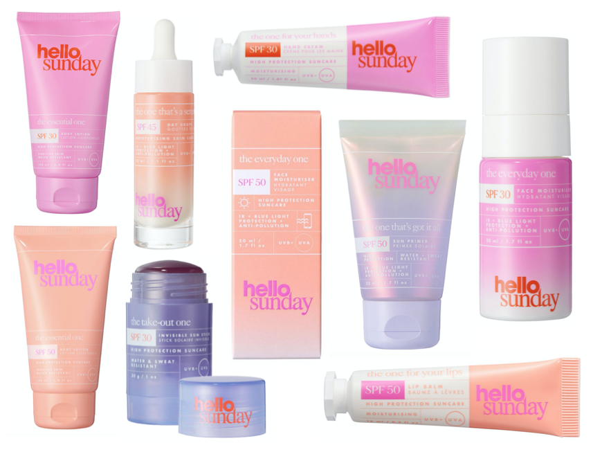 Hello Sunday Now Available at Cult Beauty