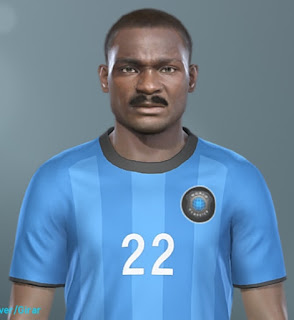 PES 2019 Faces Roger Milla by MinchoSheen