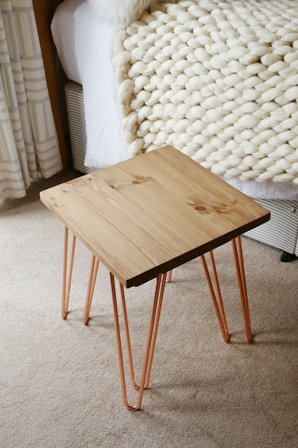 muju furniture, muju furniture review, muju furniture blog review, muju furniture reviews, muju furniture etsy, muju furniture nesting table, copper hairpin legs furniture, copper wooden table