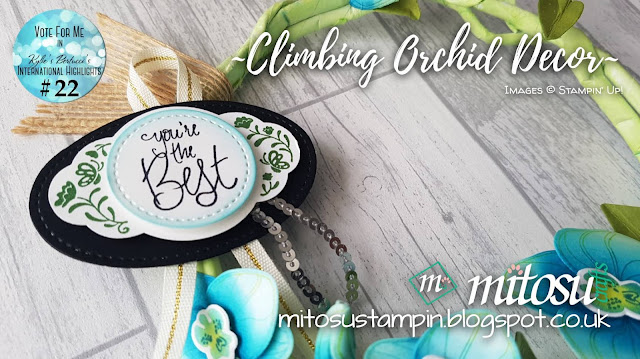 Stampin' Up! Climbing Orchid Bundle Mitosu Crafts Order Stampinup Products UK Online Shop 1