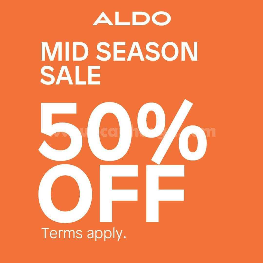 Promo ALDO Shoes MID SEASON SALE – Disc. up to 50% Off