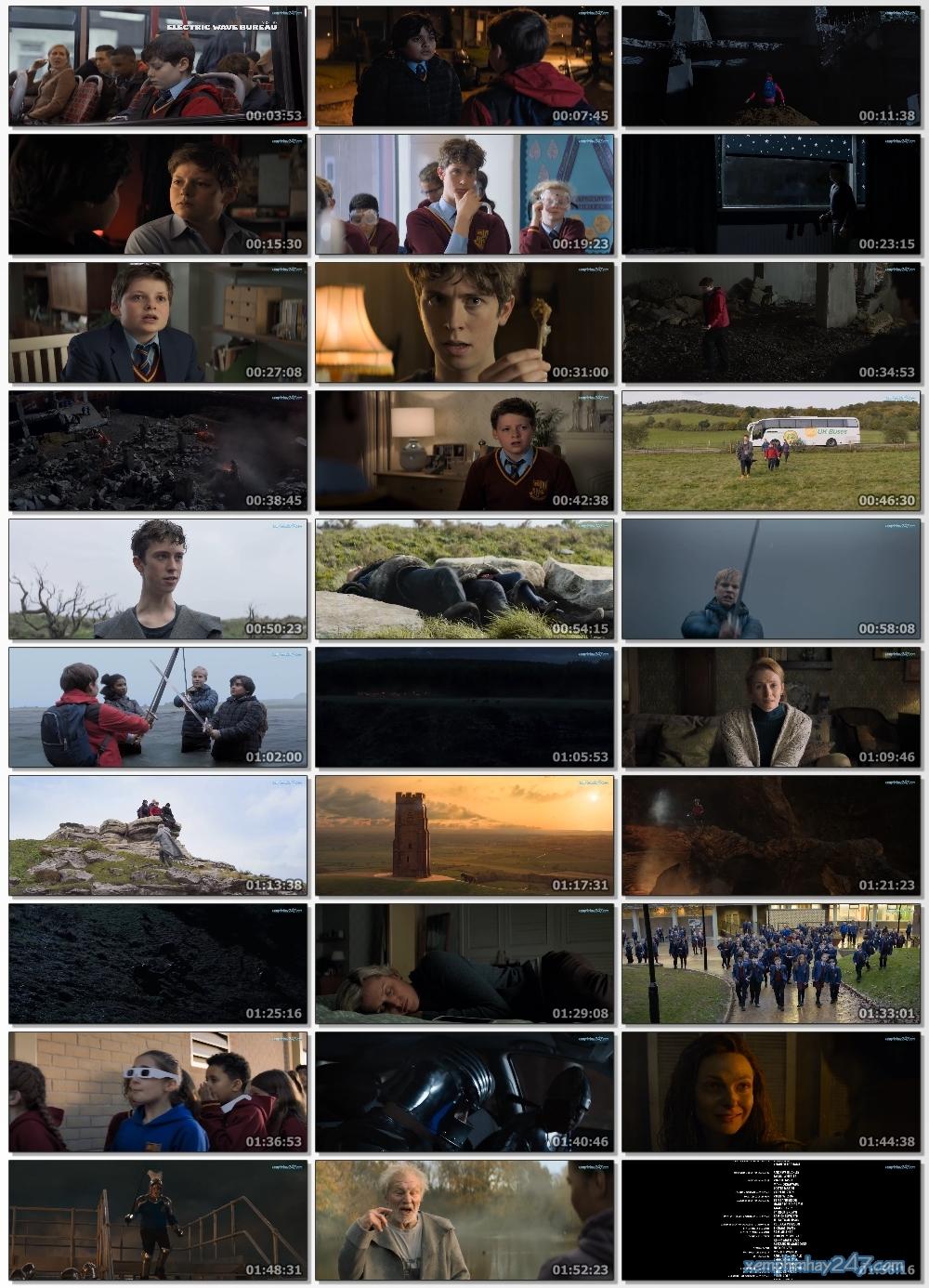 http://xemphimhay247.com - Xem phim hay 247 - Cậu Bé Và Sứ Mệnh Thiên Tử (2019) - The Kid Who Would Be King (2019)