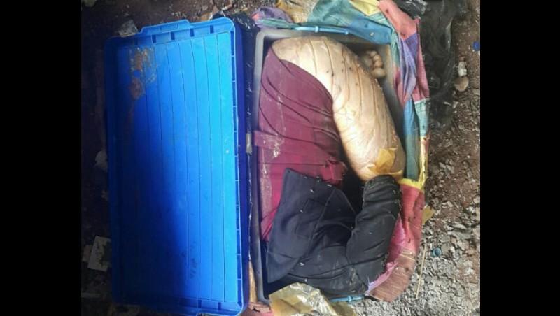 Kondisi mayat Farah saat ditemukan dalam boks di kolong tol PIK