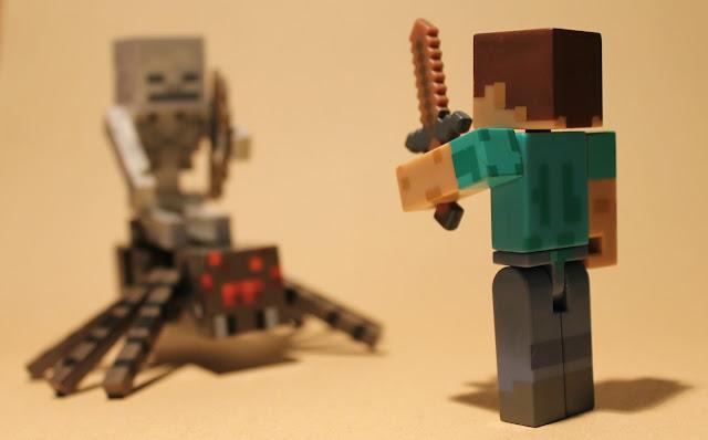 Juguetes de Steve minecraft