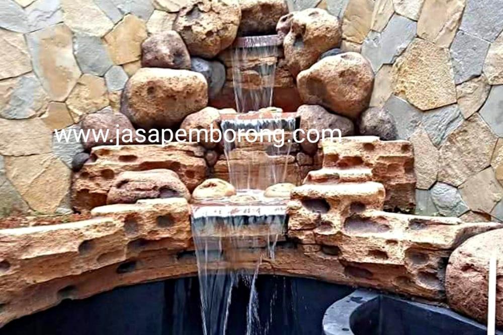 Jasa Tukang Relief Kolam Tebing Semarang | Jasa Pembuatan Kolam Air Terjun Dekorasi di Semarang