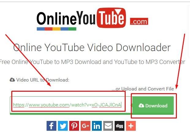 OnlineYouTube Untuk  Download Video Youtube 2019