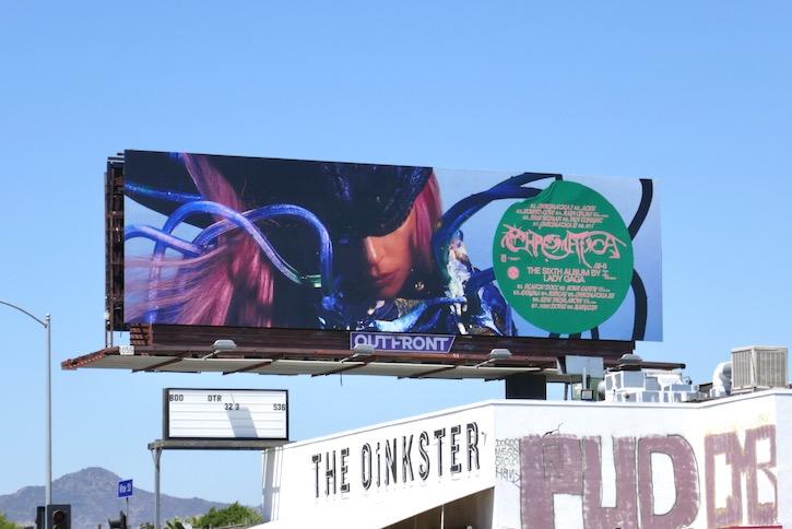 Chromatica Lady Gaga album billboard