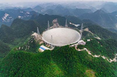 Radiotelescopio FAST - Una Galaxia