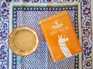 Como hacer harina de quinoa. www.soyunmix.com