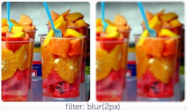 filter: blur