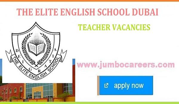 The Elite English School Dubai Teacher Job Vacancies 2021