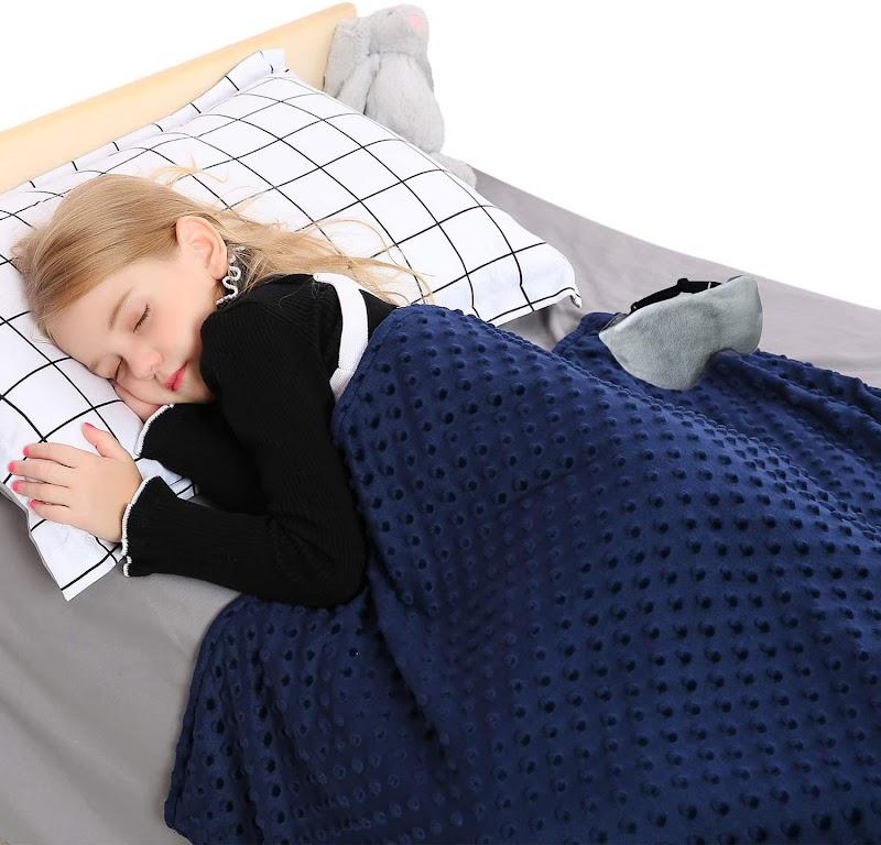 50% off BUZIO 4pcs Set 5lbs/7lbs Kids Weighted Blanket