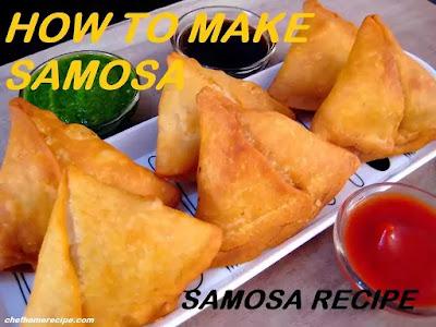 How to Make Samosa-chefhomerecipe.com