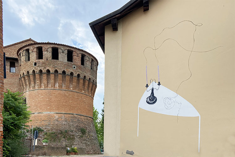Caterina Sforza a Dozza