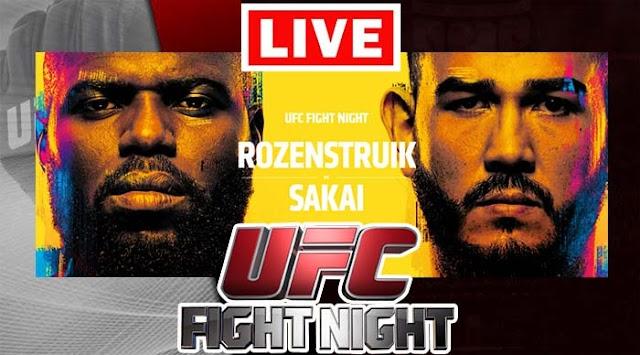 EN VIVO | UFC Fight Night: Jairzinho Rozenstruik vs Augusto Sakai | Horario y Cartelera | ¿Dónde ver gratis el combate online en internet?