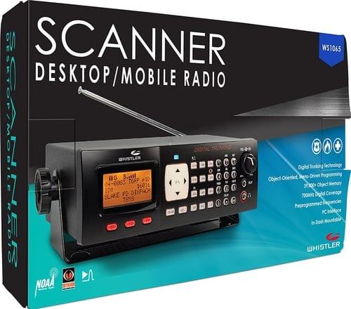 Whistler WS1065 Desktop Digital Scanner