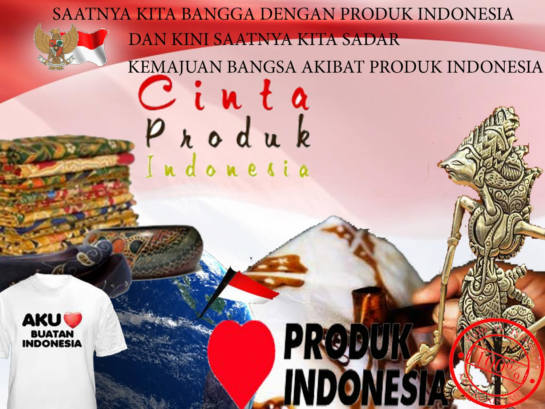 Dunia Belajar Poster Cinta Produk Indonesia