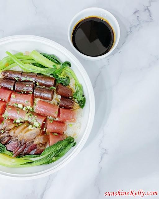 One Pot Meal, Claypot Lap Mei Fragrance Rice,  Health Care Forte, Food Review, Lap Mei Fan, FB Live Cooking Demo, Li Garden Restaurant, Food