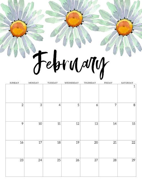 descarga gratis calendario año 2020