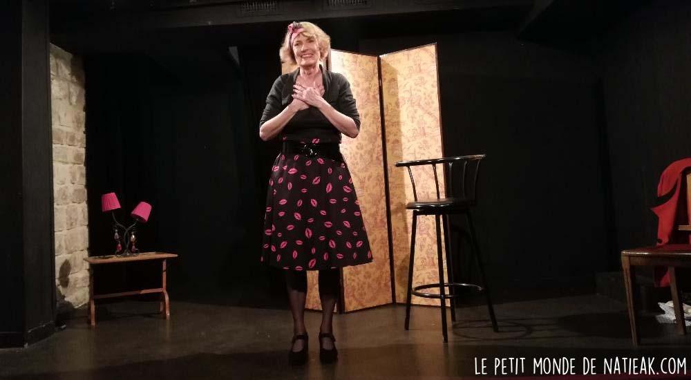 Monique Vérité comédienne compagnie Keops