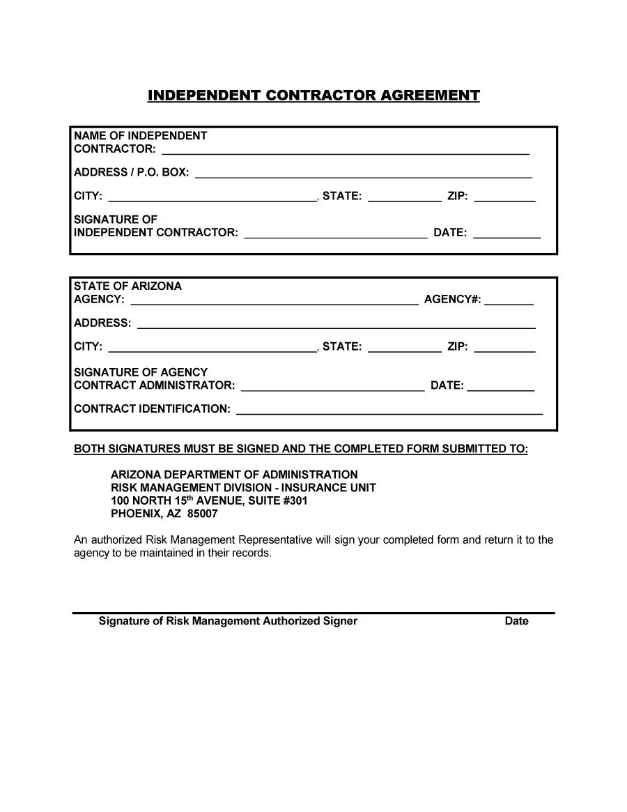 Simple Contract agreement templates - Contract agreement ...