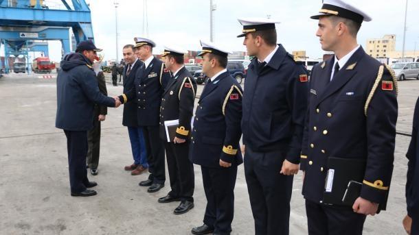 Turkish submarine visits Albania