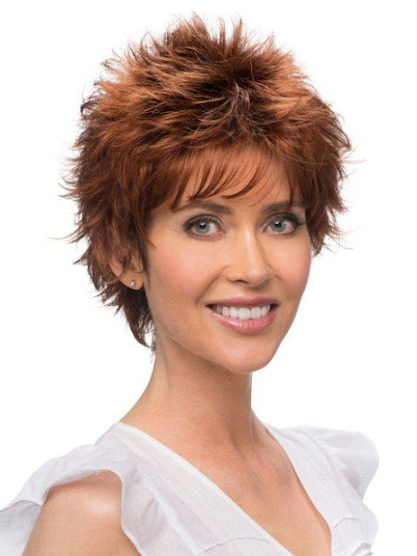 spiky short hairstyles - haircut