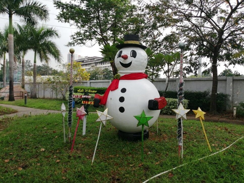 Huawei Y9 2019 Main Camera Sample - Outdoor, Snowman - Auto
