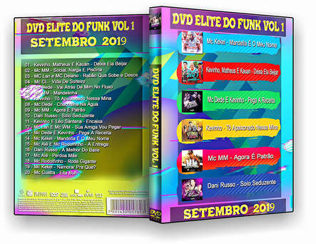 DVD ELITE DO FUNK VOL.1 - ISO