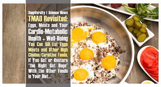 TMAO: Eggs, Meats and Your Cardio-Metabolic Health | You Can Sill Eat Eggs & Meat, If You Got 'the Right Gut Bugs' 2