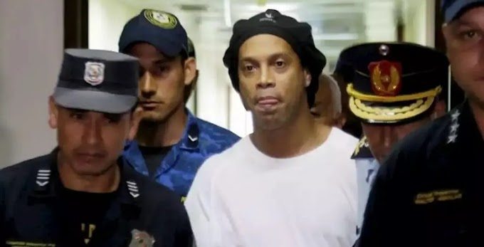 Ronaldinho finally released from Paraguay prison