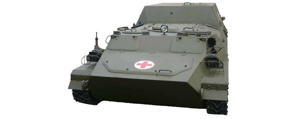 Броньована медична машина МТ-ЛБ-С