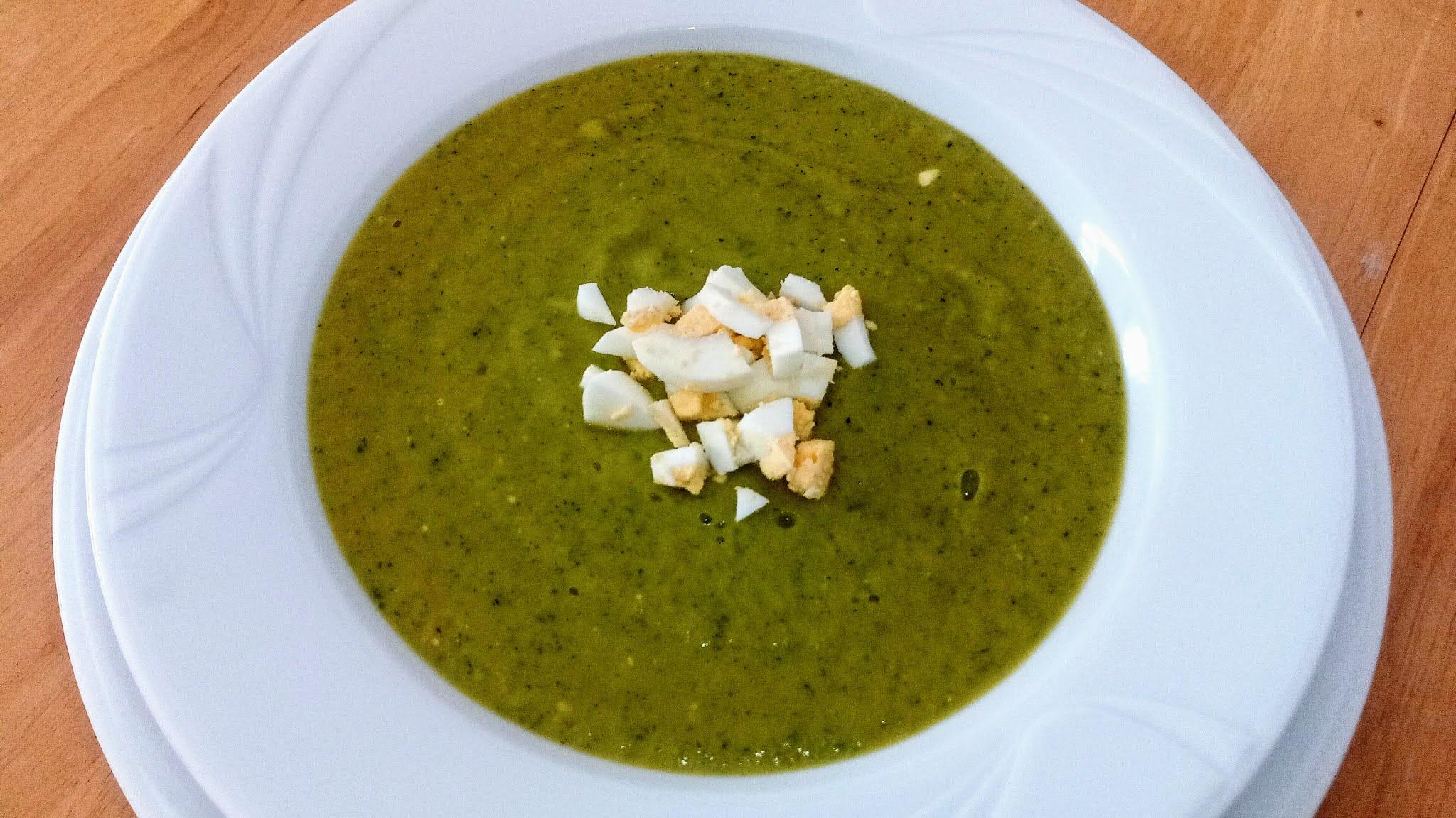 recetas de cremas - crema 3 verduras