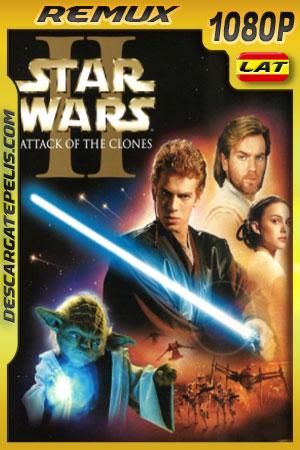 Star Wars Episodio II: El ataque de los clones (2002) 1080p BDRemux Latino – Ingles