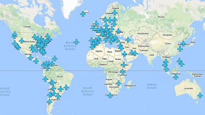كلمات سر شبكات واي فاي جميع مطارات العالم