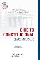 Livro Direito Constitucional Descomplicado PDF 2016/2017