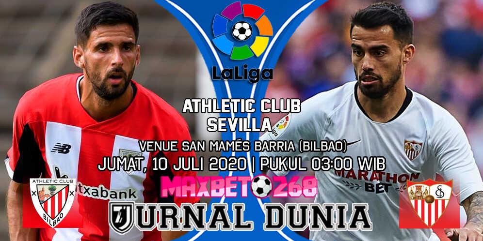 Prediksi Athletic Bilbao Vs Sevilla 10 Juli 2020 Pukul 03.00 WIB