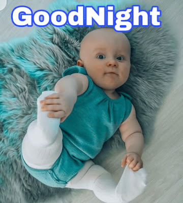 cute baby good night image pics pictures download and share with your friends