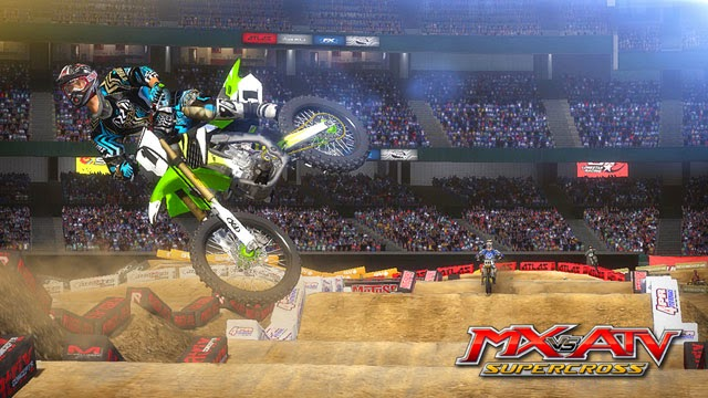 MX vs  ATV: Supercross Out Now for Xbox 360 and PlayStation 3