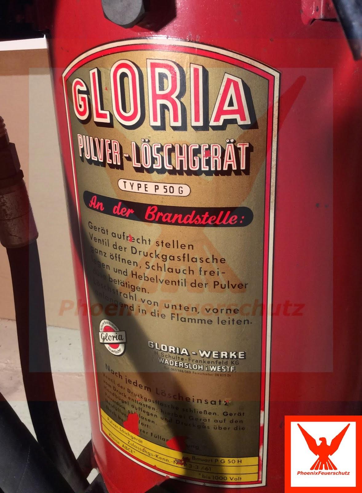 PhoenixFeuerschutz: Report aus dem Museum: Ein alter P 50 G Baujahr 1964