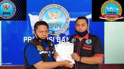 Pembentukan Pengurusan FOKAN Di Gedung Aula BNN Provinsi Banten