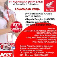 Loker Surabaya di PT. Nusantara Surya Sakti Juni 2021