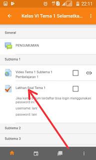LMS elearning Moodle juga tersedia versi Android yang akan memudahkan penggunanya dalam me TAS:  Cara Instal Aplikasi Moodle Android