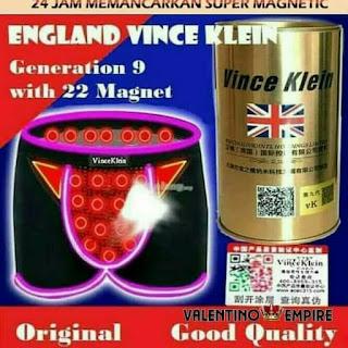 Celana Dalam Kesehatan Pria Vince Klein Magnetic Infrared Quantum Original