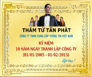 Tiền thân là trung tâm thám tử tư hoạt động từ năm 1997 tới năm 2005 thì thành lập công ty thám tử Tấn Phát
